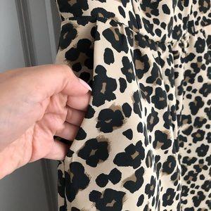 Banana Republic Factory Dresses - Banana Republic leopard print dress